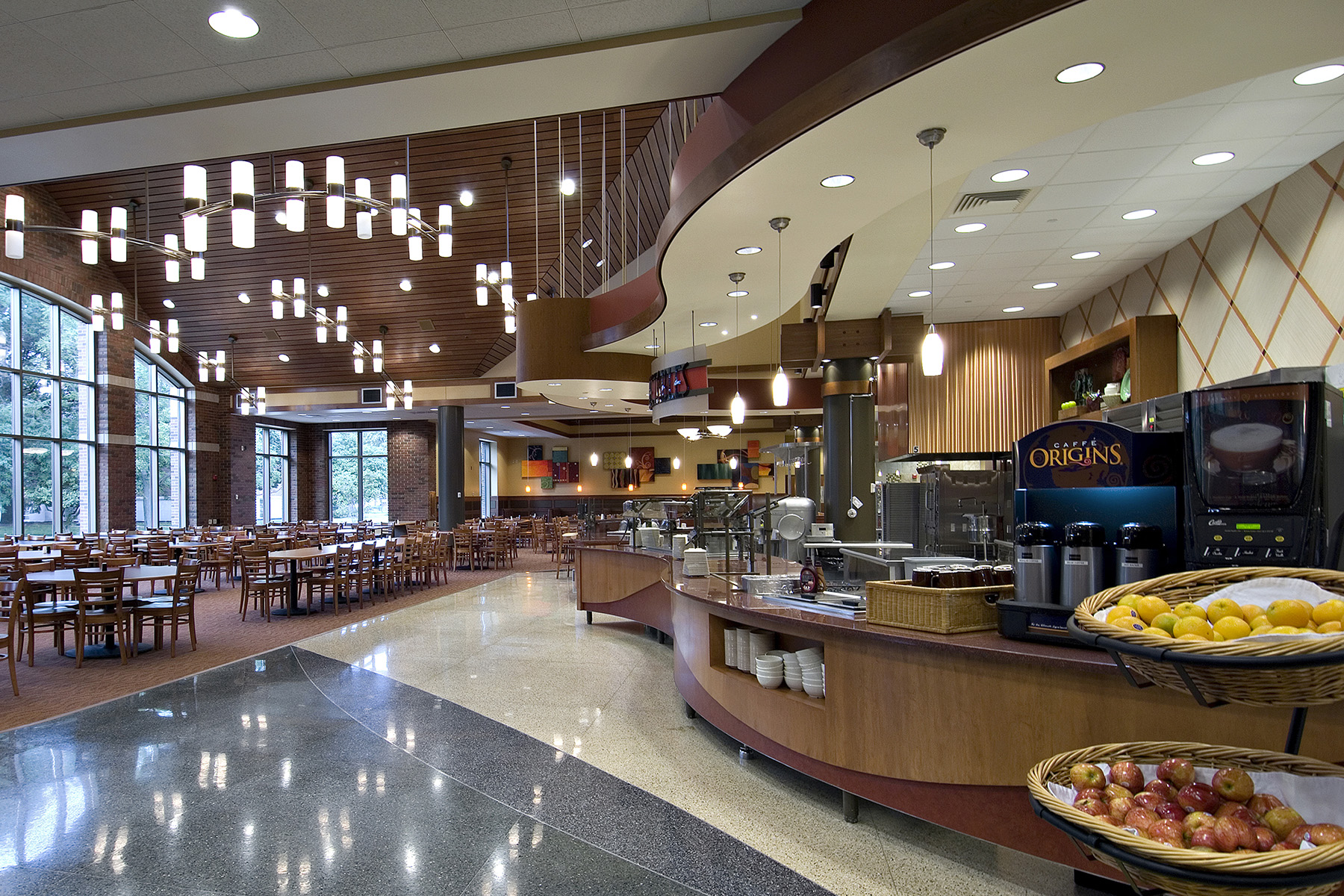 Wiley Dining Court Interior